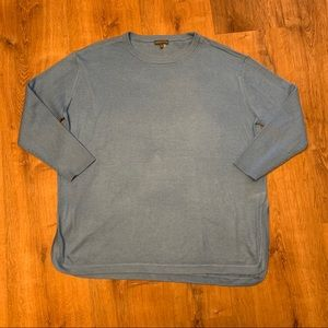 Vince Camuto Crew Neck Blue Sweater Size 1X!!!